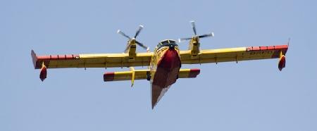 Waldbrandbekämpfung per Fallschirm