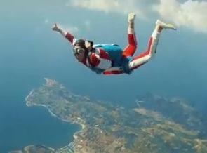 Fallschirmspringen nach Portoroz (Slowenien)