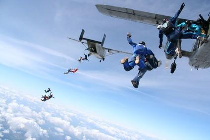 AFF Fallschirmspringen Ausbildung